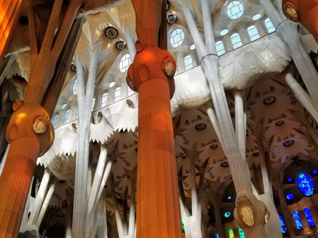 Sagrada Familia interior, Susan Wolfson