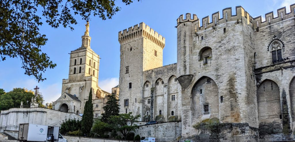 Papal palace Avignon FranceGo Astro Travel