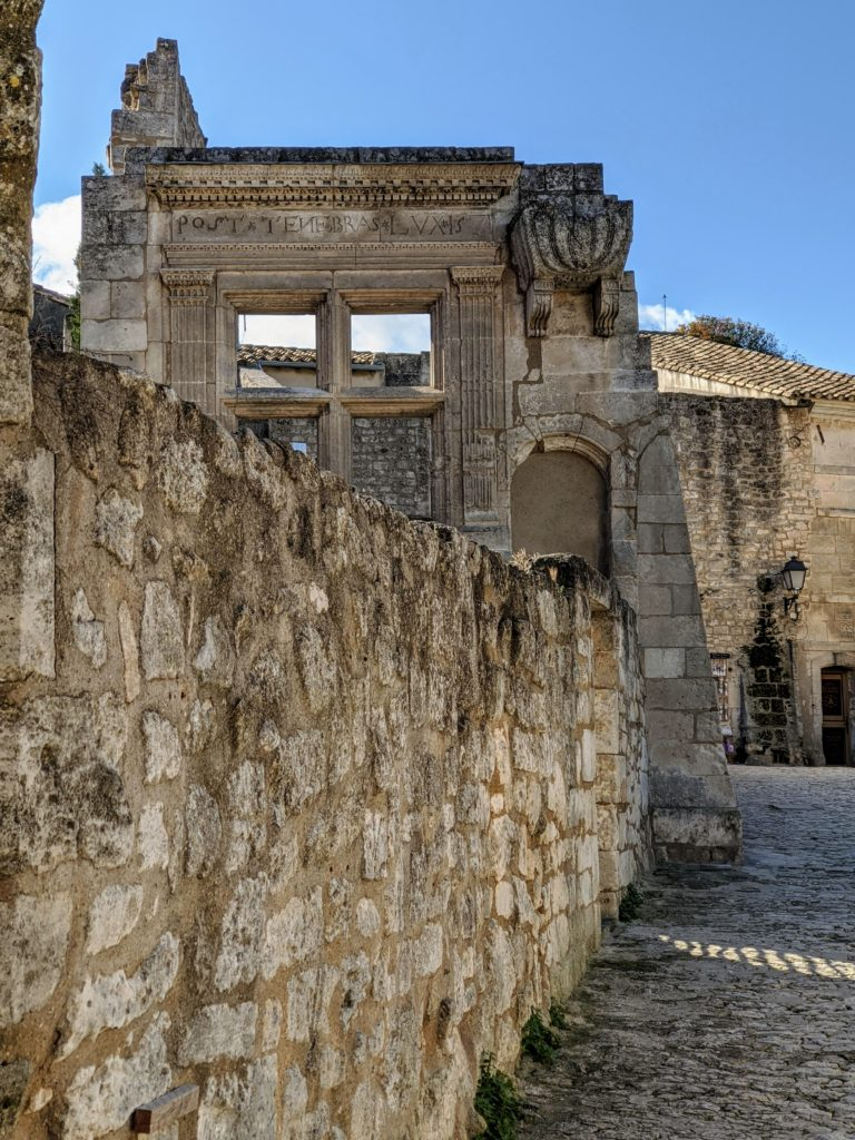 Les Baux AmaWaterways Colors of Provence river cruise with Go Astro Travel