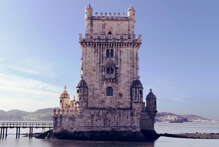 Balem Tower, Lisbon. Visit on a River Cruise trip with Susan Wolfson and Go Astro Travel