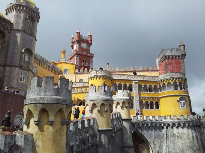 Sintra - fabulous palaces in Portugal.  Visit with Susan Wolfson